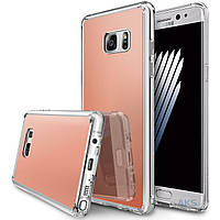 Чехол Ringke Fusion Mirror Samsung N930 Galaxy Note 7 Rose Gold