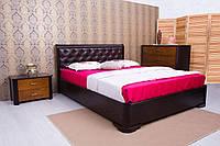 Кровать Ассоль ромбы 1,6м с подъемным механизмом