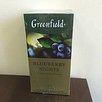 Чай Greenfield Blueberry Nights 25 пак.