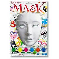 Раскрась  маску
