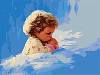 Картины по номерам 40*50 - Молитва малыша