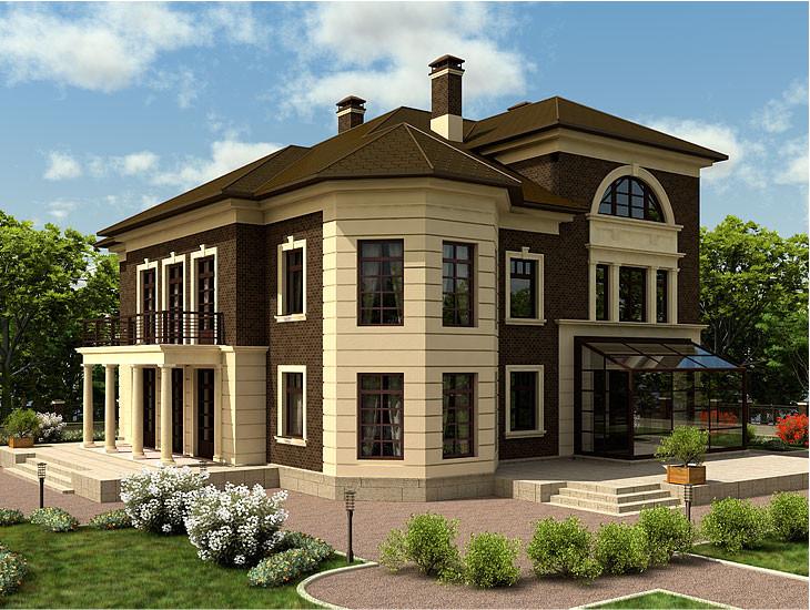 Типовий проект котеджу, будинку який можна купити.