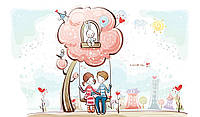 Рисование картин по номерам на холсте - Счастливы вместе