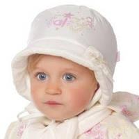 """Набор из шарфа и шапки на завязках для девочки """"Рейчел"""" в 2-х цветах."""
