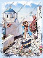 Вышивка бисером схемы Греческие каникулы