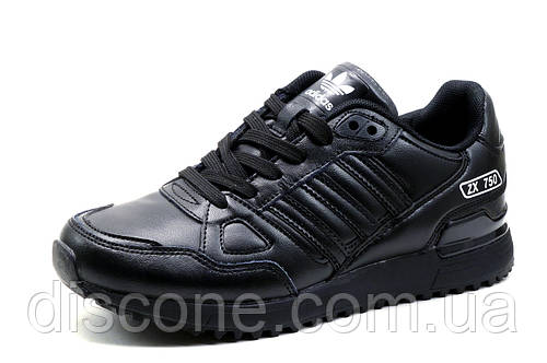 Кроссовки Adidas ZX750, унисекс, черные