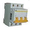 Автоматический выключатель ВА 47-60 3Р 40А 6 кА х-ка D, IEK