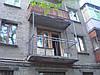 Сварка каркаса балкона, расширение балкона, монтаж плит балконов, обшивка профлистом снаружи, устройство крыши