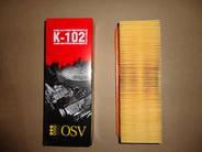 Фильтр воздушный Таврия инжектор (K-102) (пр-во OSV)