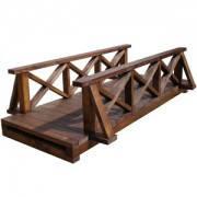 Уникальный мостик из состаренного дерева под заказ