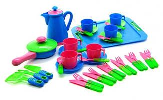 Набор посуды с подносом Завтрак