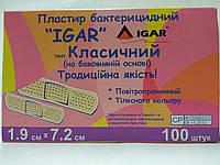 Пластырь бактерицидный 1.9*7.2 см / ИГАР