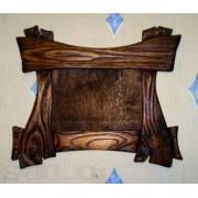 Деревянная рамка из массива сосны будет отличным дополнением к Вашей картине