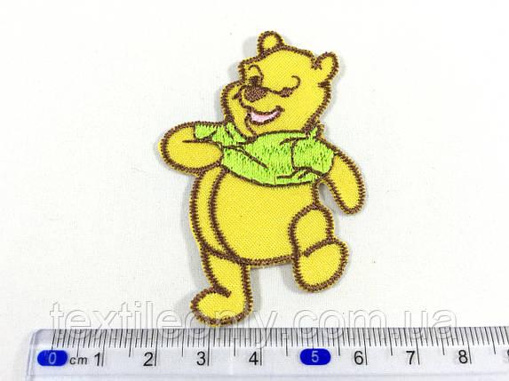 Детская нашивка Винни пух цвет желтый , фото 2