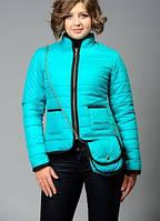 Жіноча куртка (осінь/весна) Патриція блакитна