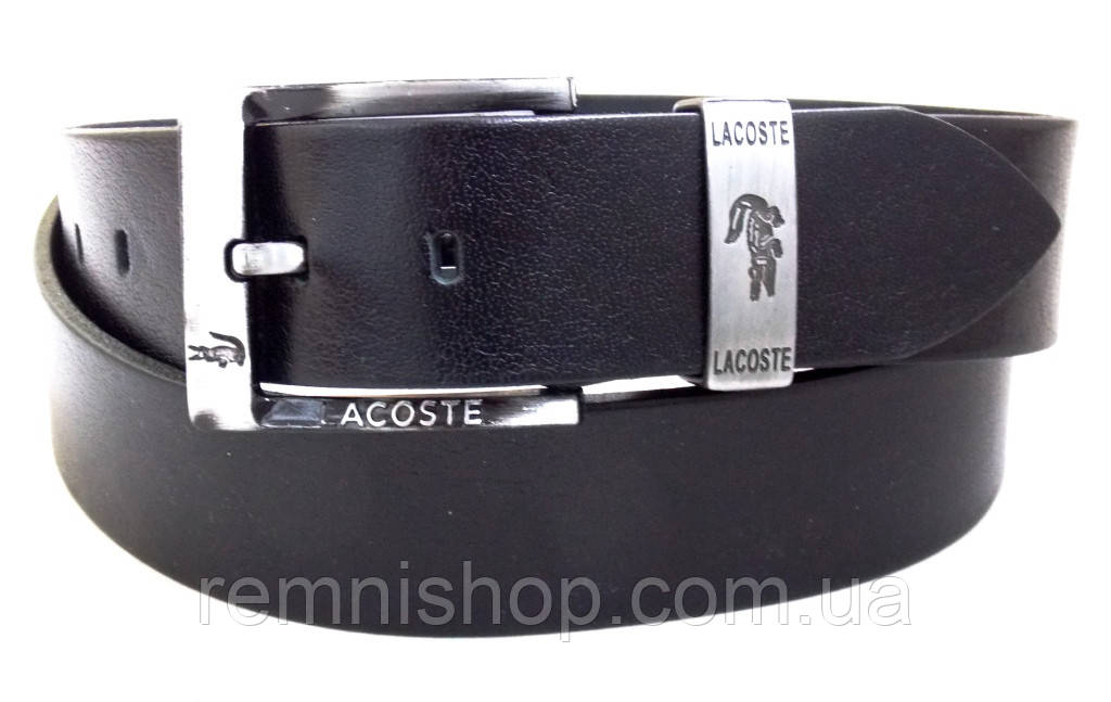 Кожаный мужской ремень Lacoste для джинс  продажа, цена в Днепре ... 07ebe8bbe39