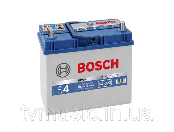 Аккумулятор Bosch S4 023 Silver 45Ah 12V (0092S40230)