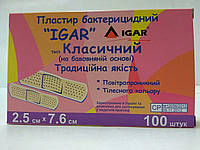 Лейкопластырь бактерицидный 2.5*7.6 см / ИГАР