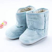 Детские сапожки-пинетки.Первая обувь для малышей.