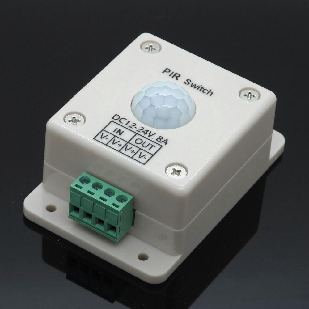 Інфрачервоний Датчик руху 12-24V DC, 8A (PIR-Sensor)