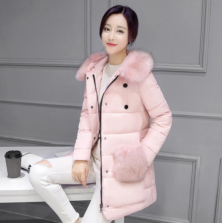 Женский зимний пуховик. Модель 838