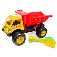 """Машина """"Гигант"""" с лопаткой и граблями 08-802 Kinder Way"""