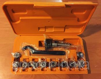Цанговый патрон МК2 с комплектом цанг