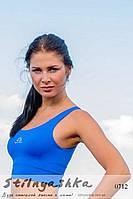 Спортивный голубой топ , фото 1