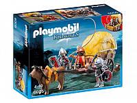 Конструктор Playmobil Рыцари Сокола с камуфляжной повозкой 6005