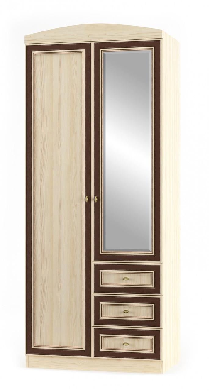 Шкаф 2Д3Ш Дисней Мебель Сервис