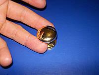 Ручка мебельная гриб 27мм золото, фото 1