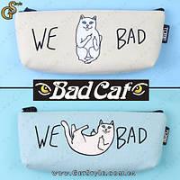 """Косметичка-пенал - """"Bad Cat"""", фото 1"""