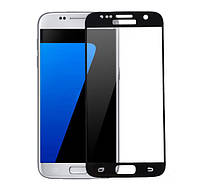 Full Cover защитное стекло для Samsung Galaxy S7 (G930F) - Black