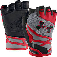 Перчатки Under Armour Resistor Mens-STL/RED/BLK, ОРИГИНАЛ
