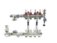 Коллектор для тёплого пола 2 контура (KT-001)
