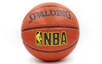 Мяч баскетбольный SPALDING VARSITY  (№ 7, резина, бутил, оранжевый)
