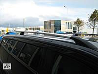 Рейлинги Citroen Jumpy, Ситроен Джампи 1996 - 2007 длинная база хром (пластиковая ножка), фото 1