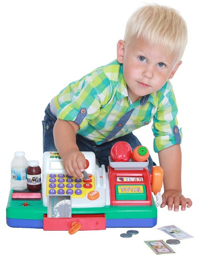 Кассовые аппараты детские