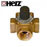 Клапаны трехходовые Трехходовой смесительно-распределительный кран HERZ 2137 DN 25 (1213703)