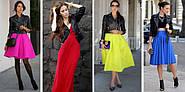 Черная кожаная куртка женская. 7 ярких цветовых сочетаний (ФОТО)
