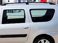 Рейлинги Dacia Logan MCV, Дачия Логан 2006 - 2014 черный (пластиковая ножка)