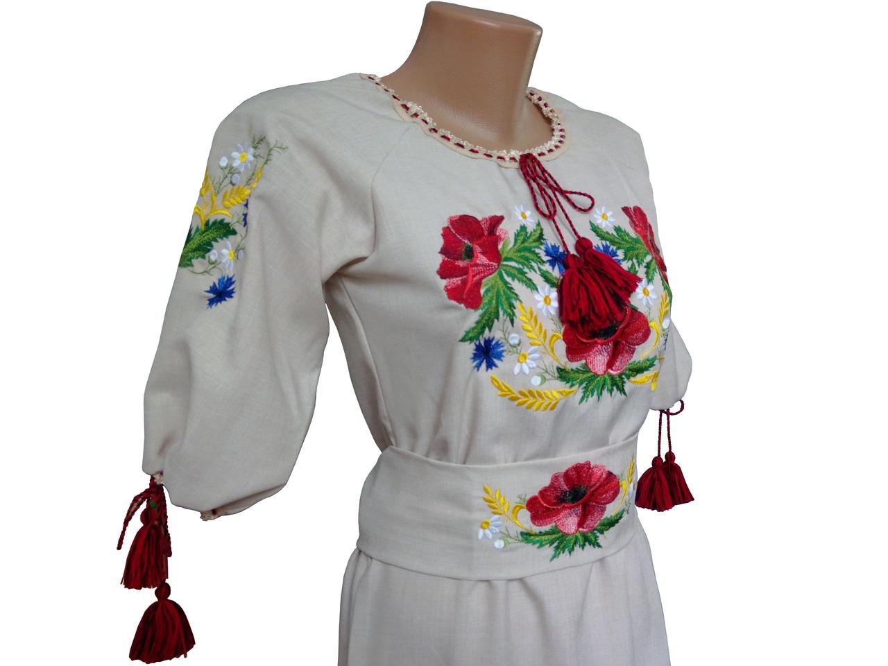 Українська вишивка плаття