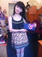 Победительница конкурса Вконтакте с клатчем от МальваОпт!