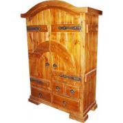 Шкаф под старину изготовим по Вашему желанию