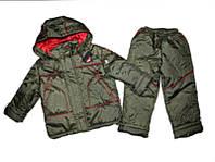 Детская Куртка+штаны на мальчика (весна-осень) 28 р. 2-3 года, фото 1