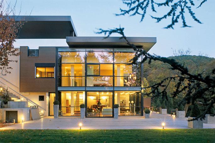 Построить Дом в стиле Хай-Тек СТРОИТЕЛЬСТВО.