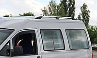 Рейлинги Fiat Scudo, Фиат Скудо 1996 - 2007 длинная база хром (пластиковая ножка)