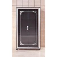 Витрина 2-дверная Элизабет (Black)