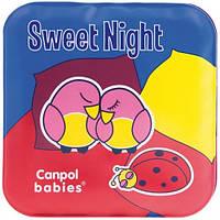 Игрушка-книжка мягкая пищалка День и ночь Canpol