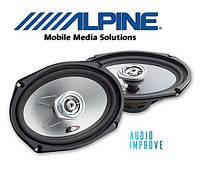 2-полосная коаксиальная акустика Alpine SXE-6925S овали